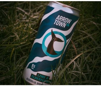 Arrowtown Lime & Elderflower Hard Seltzer - 12 x 330ml cans