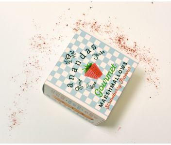 Ananda's Strawberry Marshmallows 80g