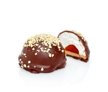 4 Almond and Apricot Chocolate Teacakes
