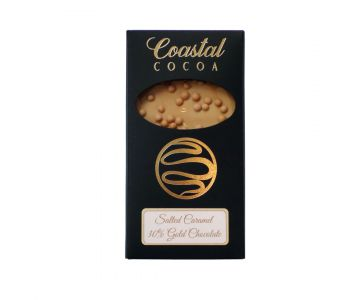 Salted Caramel 30% Gold Chocolate Bar