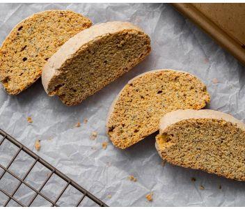 Gluten Free Biscotti - Lemon & Poppy seed - 100g