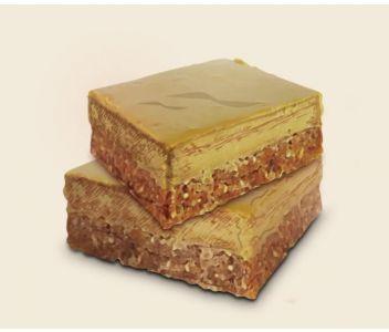6 x Caramel Latte Raw Cake Brownies