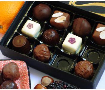 Coastal Cocoa Classic Selection - 12 pc Box