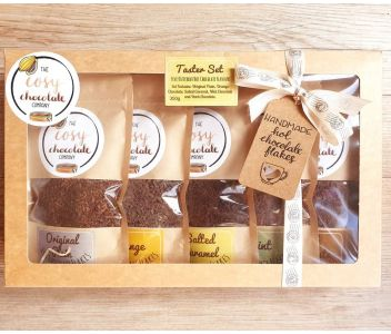 Tasting Set of Five Drinking Chocolate Flavours