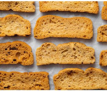 Gluten Free Lightly Salted Crostini 60 gm