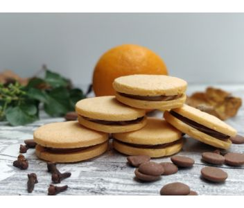 Artisan Indulgently Nutty Alfajores Biscuits