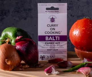Curry On Cooking Balti (medium) Curry On Cooking Spice Kit Oh Err! That's a Bit Saucy!