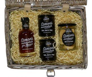 Simon's Hamper No. 1 - marmalade, marmalade gin liqueur & shortbread