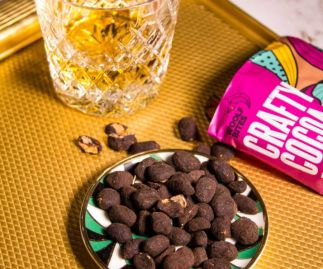 Crafty Cocoa Dusted Caramelised Peanuts (3 x 80g)