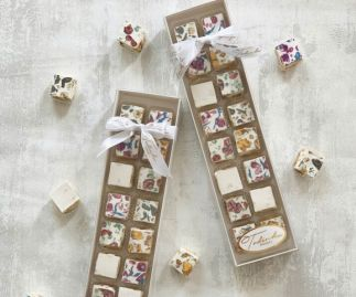 Assorted nougat gift box (16 pieces)