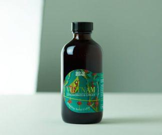 Lemongrass & Ginger Social Coffee Tonics