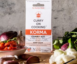 Curry On Cooking Korma (mild) Curry Kit Keep Korma and Curry On!