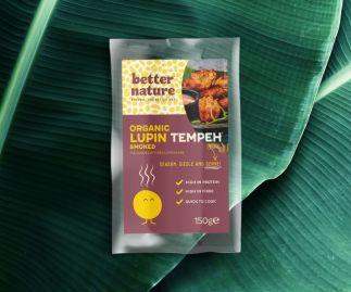 Organic Smoked Lupin Tempeh