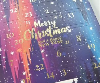 Luxury Christmas Chocolate Advent Calendar 2021 - ***PREORDER now***