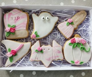 Biscuits - Halloween Box - Pastel Colours - PRE ORDER BOX
