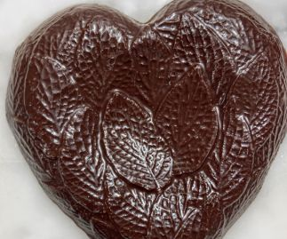 Award-Winning 75% Solomon Islands Dark Chocolate Heart