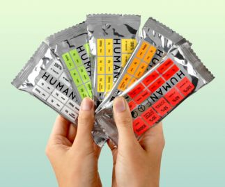 Human Food Organic Wholefood Bars - 10 Bars | Mixed Flavours