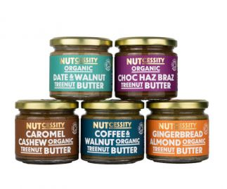 Organic Nut Butter 'Try Me!' Pack (Free Delivery)