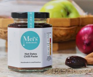 Hot Dates Chilli Paste     Gluten Free