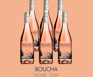 Boucha Kombucha Rosé Blush 750ml