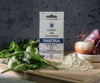 Curry On Cooking Pakora Spice Kit (mild/medium) Peckish? P..p..p…p Pick a Pakora!
