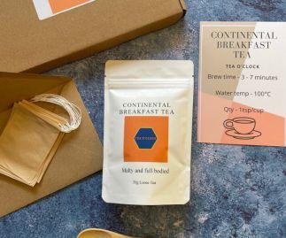 Continental breakfast tea letterbox friendly hamper
