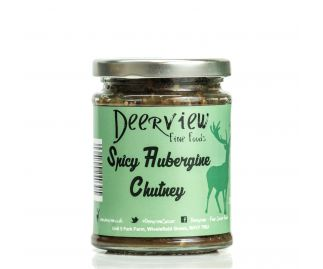 Spicy Aubergine Chutney