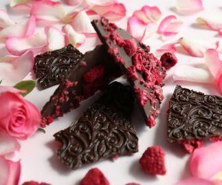 Rose & Raspberry Bark
