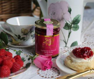 Raspberry & English Rose Petal Preserve