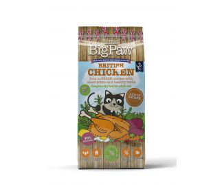 British Chicken Complete Dry Food for Adult Cats 1.5kg x4