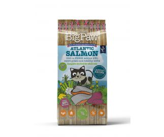 Atlantic Salmon Complete Dry Food for Adult Cats 1.5kg x4
