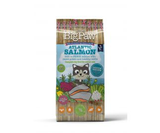 Atlantic Salmon Complete Dry Food for Senior Cats 1.5kg x4