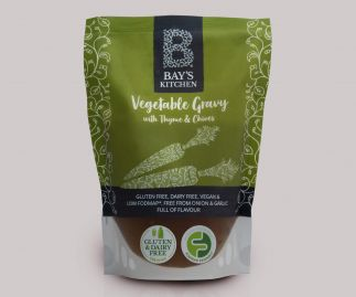 Bay's Kitchen Vegetable Gravy with Thyme & Chives