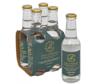 Gallybird Premium Tonic Water - Botanical Blend - 4x200ml