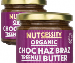 Organic Chocolate Haz Braz Nut Butter - 2 Pack