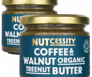 Organic Coffee & Walnut Nut Butter - 2 Pack