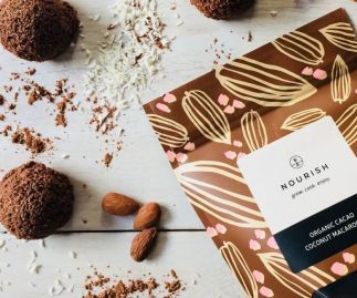 Organic Cacao Coconut Macaroons