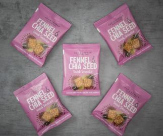 Pep & Lekker Fennel & Chia seed snacks (box of 5)