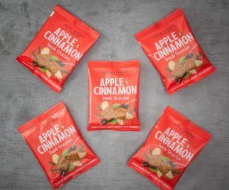 Pep & Lekker Apple & Cinnamon seed snacks (box of 5)