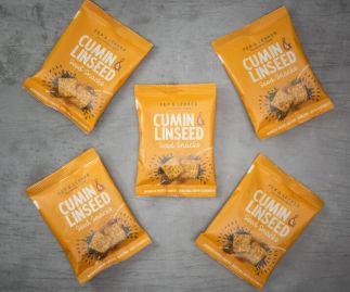 Pep & Lekker cumin & linseed snacks (box of 5)
