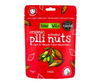 Organic Activated Chilli Pili Nuts - 70g