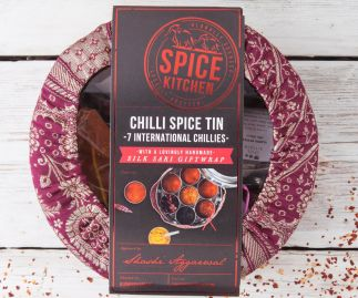 INTERNATIONAL CHILLI COLLECTION WITH SARI WRAP | 7 CHILLIES