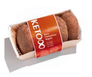 Keto Vegan Cinnamon Bun