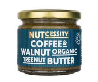 Organic Coffee & Walnut Nut Butter