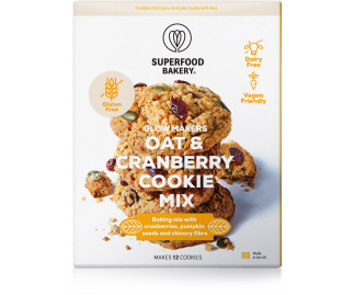 Glow Makers Oat&Cranberry Cookie Mix 280g
