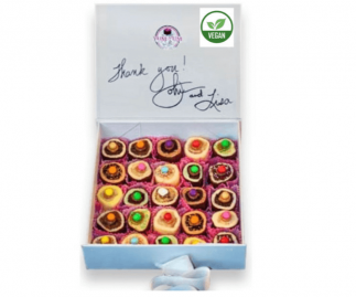 25 Piece Vegan Sushi Dessert Selection Luxury Gift Box
