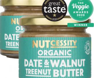 Organic Date & Walnut Nut Butter - 2 Pack