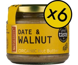 Organic Date & Walnut Butter 6 Pack [FREE Delivery]