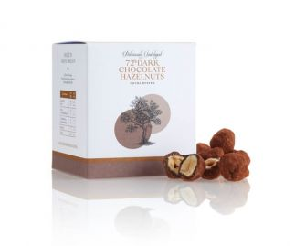 72% Dark Chocolate Hazelnuts