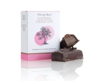 Raspberry and Kalamansi Caramel Chocolate Bar ( 3 boxes 2 bars per box)